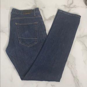 Zara Jeans Dark Blue Skinny Denim RN 77303 E4 0400
